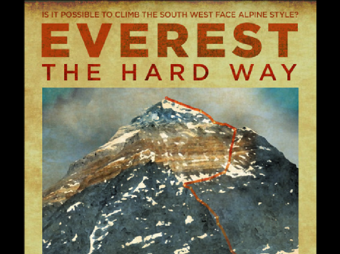 everest the hard way moc gór festiwal 2020