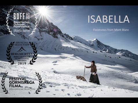 Isabelle film mt blanc